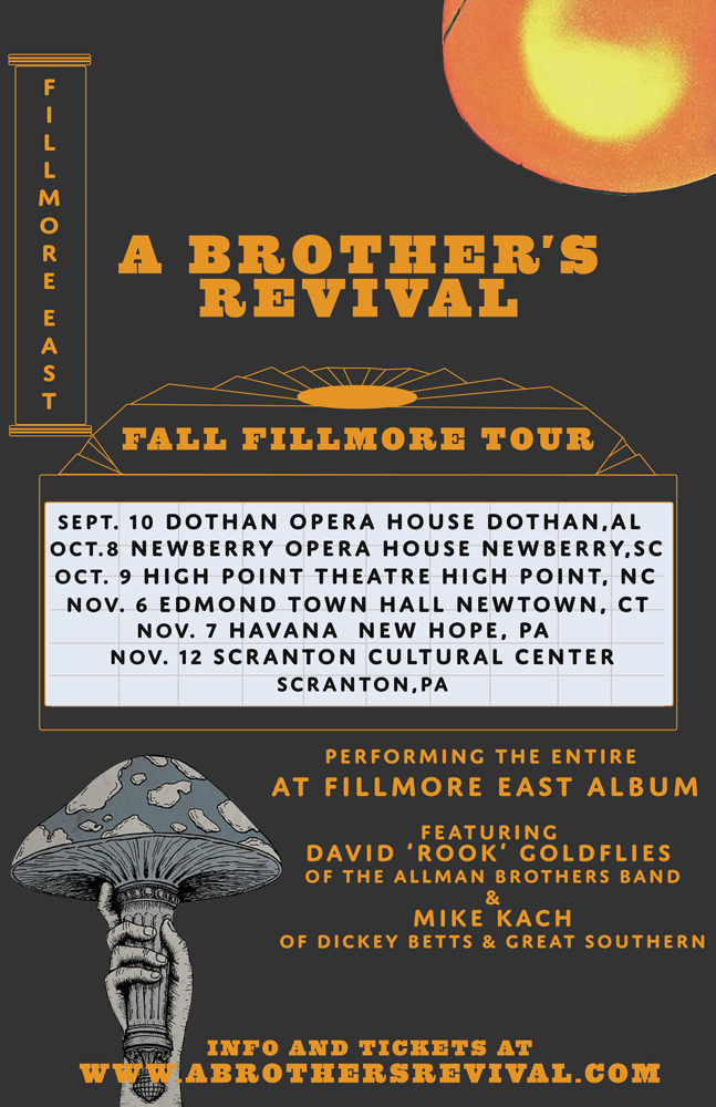 A Brother's Revival Fall Fillmore Tour